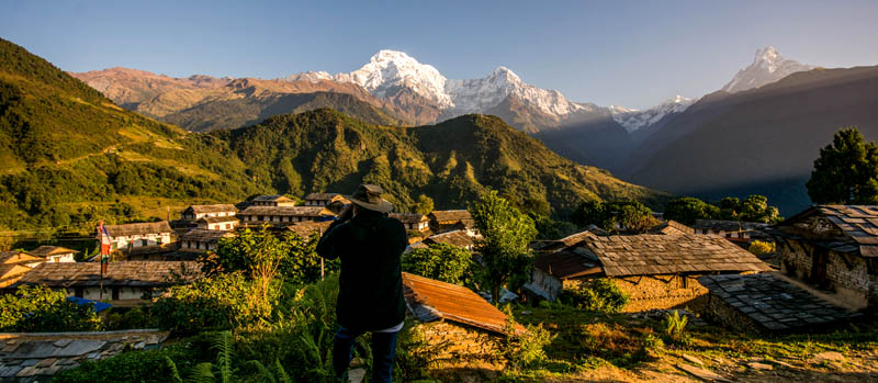 Annapurna sanctuary trek